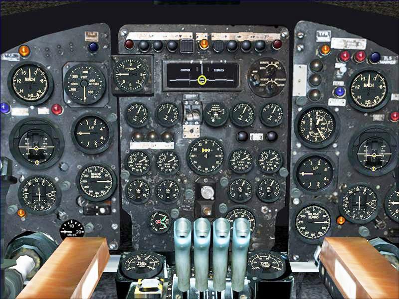 5-2 FSX Instrument panel