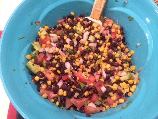 Mel's Bean Dip 2