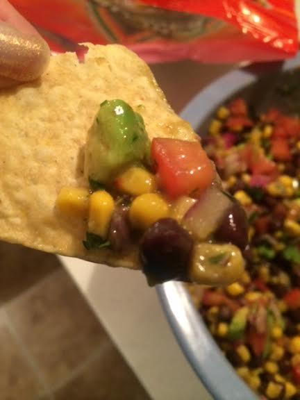 Mel's Bean Dip 5