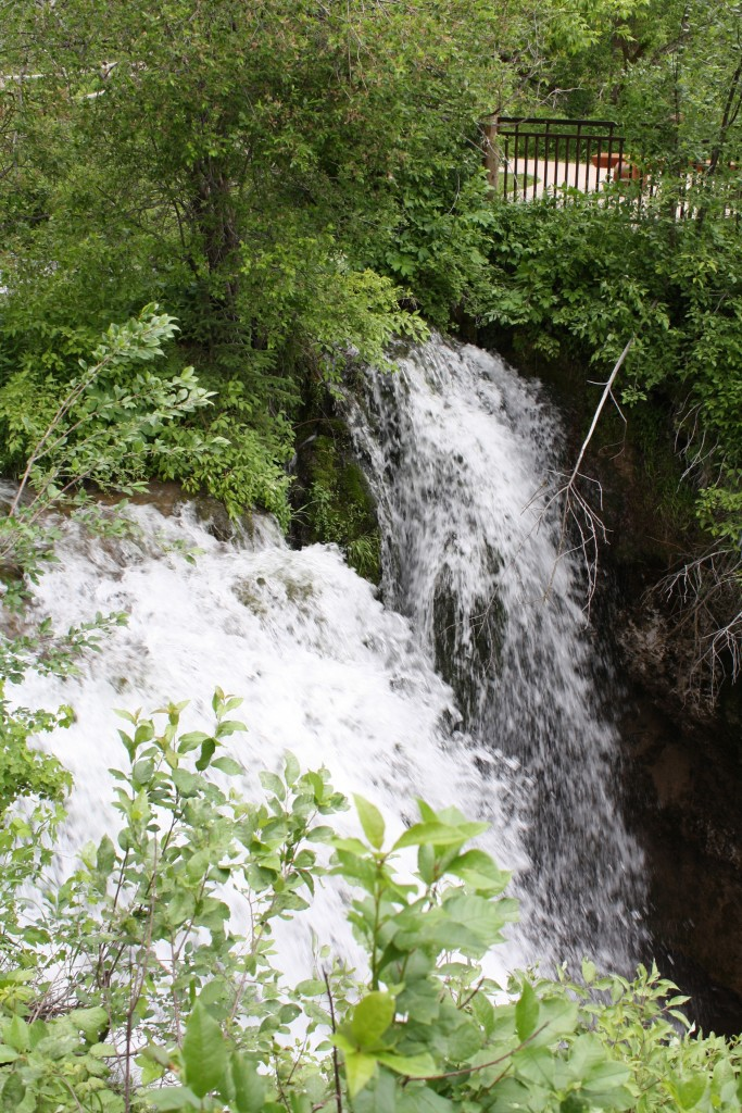 Spearfish Canyon Waterfall 2
