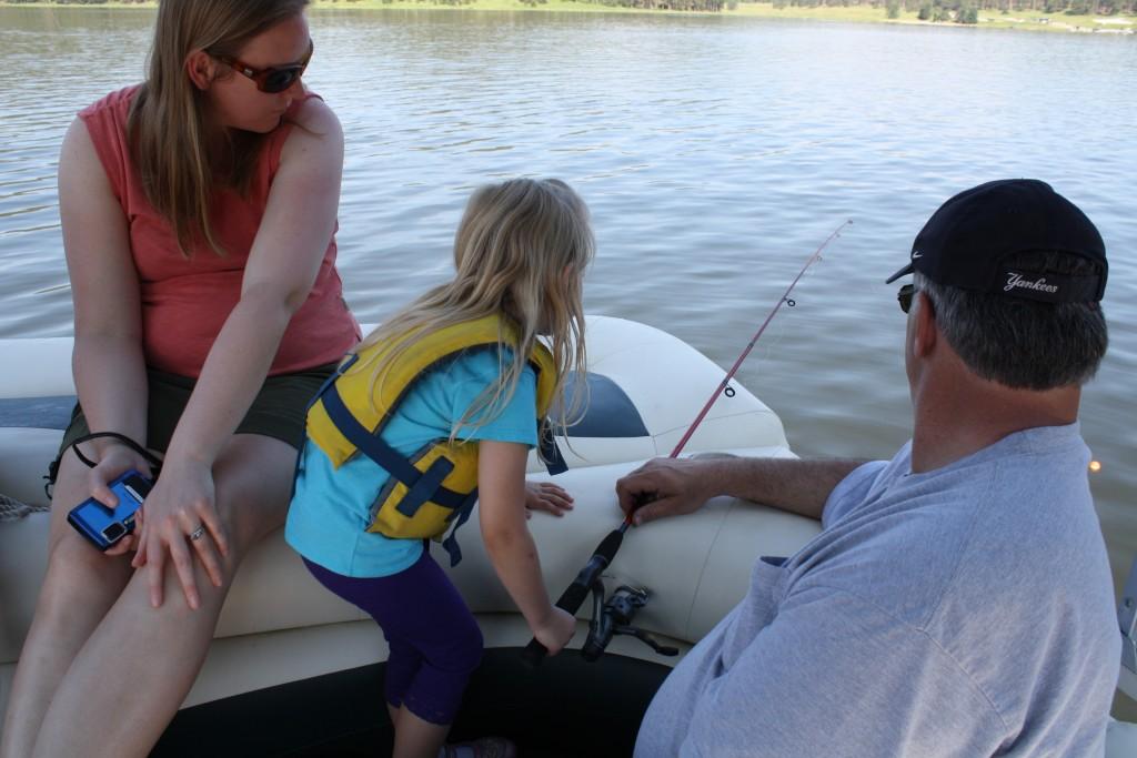 Karlena fishing