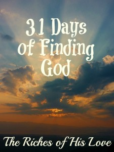 31 Days of Finding God