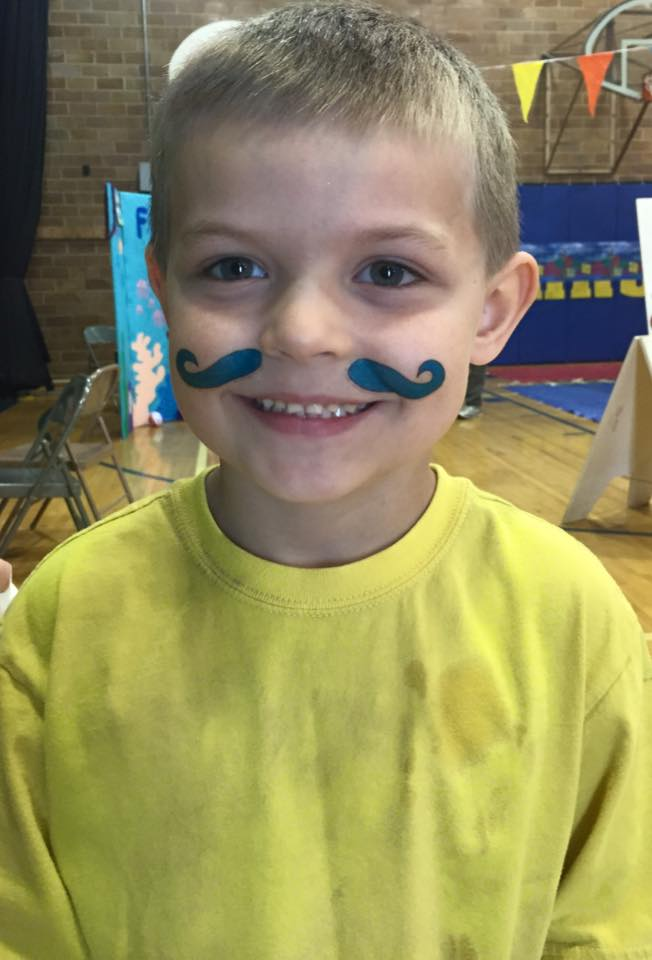 Elijah mustache man
