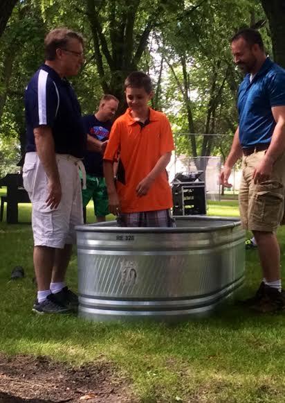 Gabriel's baptism 2