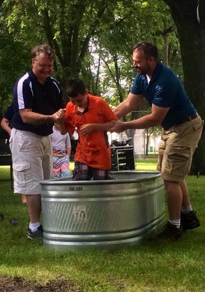 Gabriel's baptism 5