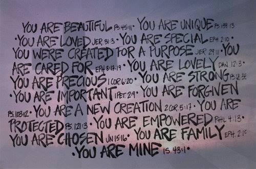 identity in christ!